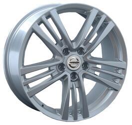 Автомобильный диск литой Replay NS64 6,5x18 5/114,3 ET 40 DIA 66,1 Sil