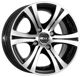 Автомобильный диск Литой K&K Эмир 5,5x13 4/98 ET 18 DIA 58,6 Алмаз черный