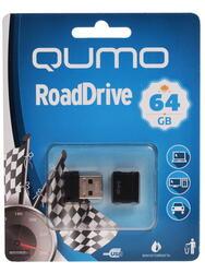 Память USB Flash Qumo RoadDrive QM64GUD-Road-B 64 Гб