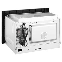 Встраиваемая микроволновая печь Korting KMI 825 XN серебристый, черный