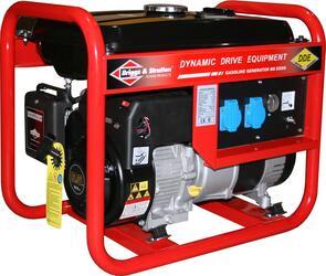 Генератор бензиновый DDE BG3500 однофазн.ном/макс.  2.7/3,0 кВт  (B&S, т/бак 15л, ручн/ст, 47кг)