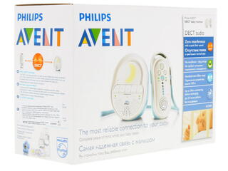 Радионяня Philips AVENT SCD505/00 голубой