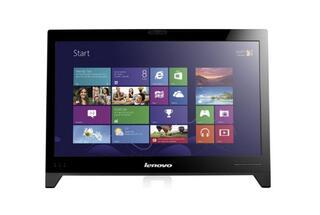 "18.5"" Моноблок Lenovo C245 (HD Ready) AMD E1-1200 (1.7GHz)/2GB/Intel HD/500GB/DVDRW/Cam/WiFi/KB+M/W8/Black"