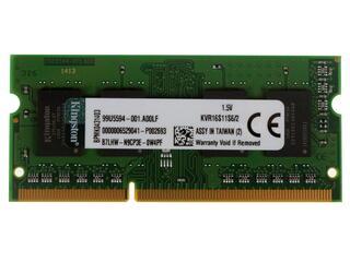 Оперативная память SODIMM Кingston [KVR16S11/2 / KVR16S11S6/2] 2 ГБ