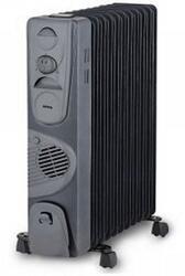 Масляный радиатор Korting KOH525FH-MG черный