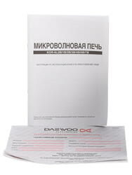 Микроволновая печь Daewoo KOR-6L7BB черный