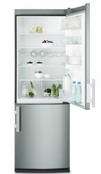 Холодильник с морозильником Electrolux EN3400AOX серый