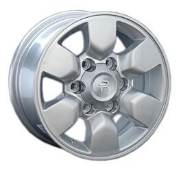 Автомобильный диск Литой Replay TY73 7x15 6/139,7 ET 30 DIA 106,1 Sil