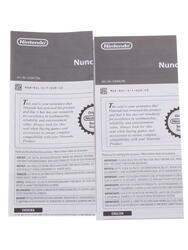 Игровой контроллер Wii Nunchuk белый