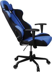 Кресло руководителя Бюрократ 771 черный, голубой