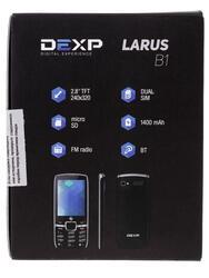 Сотовый телефон DEXP Larus B1 черный