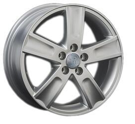 Автомобильный диск литой Replay NS141 6,5x16 5/114,3 ET 45 DIA 66,1 Sil