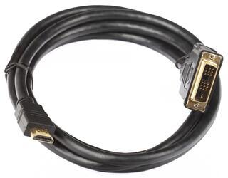 Кабель HDMI-DVI-D 3.0 м позолочен. контакты