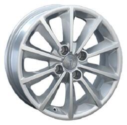 Автомобильный диск литой Replay CI16 6,5x16 4/108 ET 26 DIA 65,1 Sil