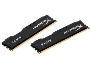 Оперативная память Kingston HyperX FURY Black Series [HX313C9FBK2/8] 8 Гб