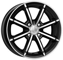 Автомобильный диск Литой K&K Sportline 6x14 4/98 ET 30 DIA 58,6 Алмаз черный