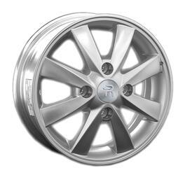 Автомобильный диск литой Replay KI49 5x14 4/100 ET 46 DIA 54,1 Sil