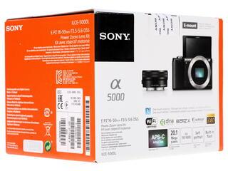 Камера со сменной оптикой Sony Alpha ILCE-5000LS Kit 16-50mm