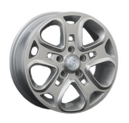 Автомобильный диск литой Replay FD18 7,5x17 5/108 ET 52,5 DIA 63,3 Sil