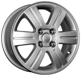 Автомобильный диск Литой K&K КС291 6x15 4/100 ET 45 DIA 54,1 Сильвер