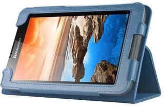 Чехол-книжка для планшета Lenovo Tab A3300 синий