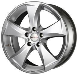 Автомобильный диск литой MAK Raptor5 8x18 5/108 ET 45 DIA 63,4 Hyper Silver