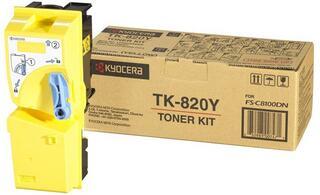 Картридж лазерный Kyocera TK-820Y