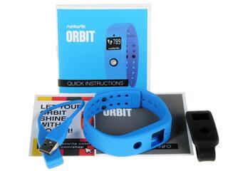 Фитнес-браслет Runtastic Orbit RUNOR1 черный, синий