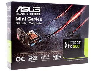 Видеокарта ASUS GeForce GTX 960 Mini [GTX960-MOC-2GD5]