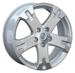 Автомобильный диск литой Replay TY21 7x17 5/100 ET 40 DIA 57,1 Sil