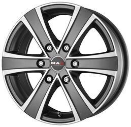 Автомобильный диск Литой MAK Van6 6,5x16 6/130 ET 50 DIA 84,1 Ice Titan