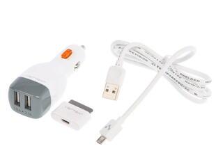 Автомобильное зарядное устройство Vertex CL204WT-GR/IPD10WT/CAE01W