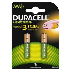 Аккумулятор Duracell HR03-2BL 750 мАч