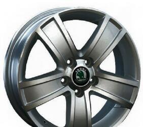 Автомобильный диск Литой Replay SK17 6x15 5/100 ET 38 DIA 57,1 GM
