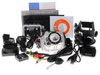 Экшн видеокамера AEE SD23 Texet DVR-905S черный