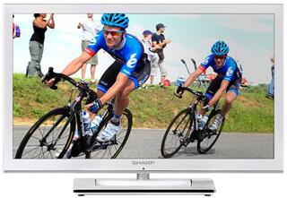 "24"" (60 см)  LED-телевизор Sharp LC-24LE250RU-WH белый"