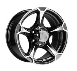 Автомобильный диск литой NZ SH659 8x16 6/139,7 ET 10 DIA 110,5 BKF