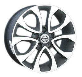 Автомобильный диск Литой Replay NS62 6,5x17 5/114,3 ET 45 DIA 66,1 GMF
