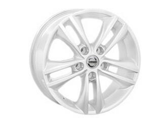 Автомобильный диск литой Replay NS54 6,5x18 5/114,3 ET 40 DIA 66,1 White