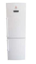 Холодильник с морозильником Hansa FK325.6 DFZV белый