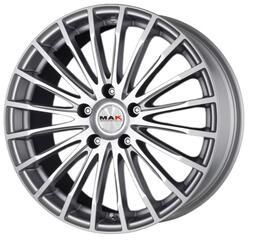 Автомобильный диск литой MAK Fatale 7,5x17 5/120 ET 40 DIA 67,1 Silver mirror