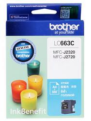 Картридж струйный Brother LC-663C