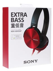 Наушники Sony MDR-XB450APR
