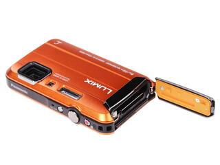 Компактная камера Panasonic Lumix DMC-FT30 оранжевый
