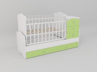 Кроватка-трансформер СКВ-9 930033-3