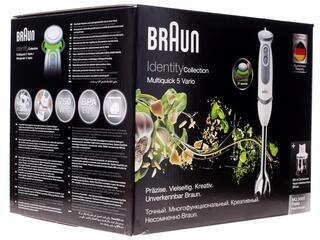 Блендер Braun MQ 5020 Pasta белый