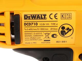 Шуруповерт DeWALT DCD710D2