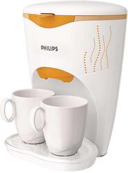 Кофеварка Philips HD 7140 белый, оранжевый