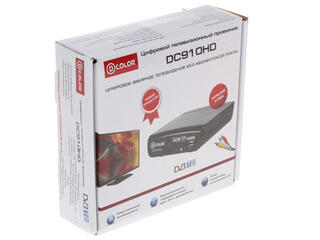 Приставка для цифрового ТВ D-Color DC910HD