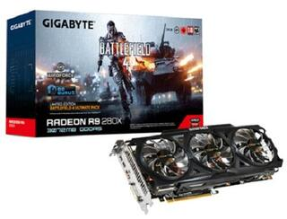 Видеокарта GIGABYTE AMD Radeon R9 280X [GV-R928XOC-3GD-GA]